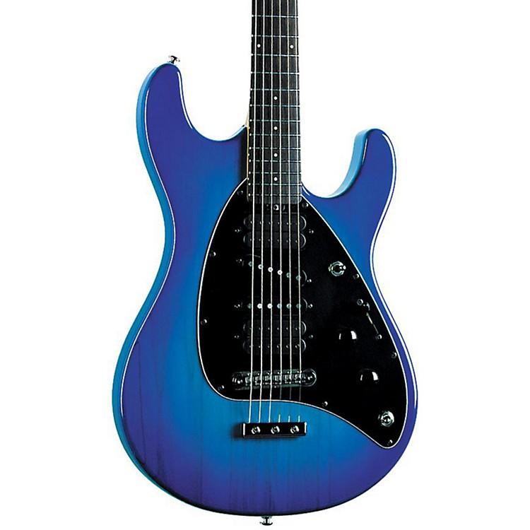 Ernie Ball Music ManSteve Morse Signature Model Electric GuitarBlue BurstRosewood Fretboard