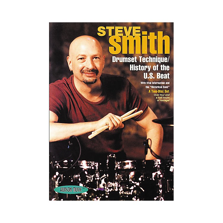 Hudson MusicSteve Smith: Drumset Technique/History of the U.S. Beat (2-DVD Set)