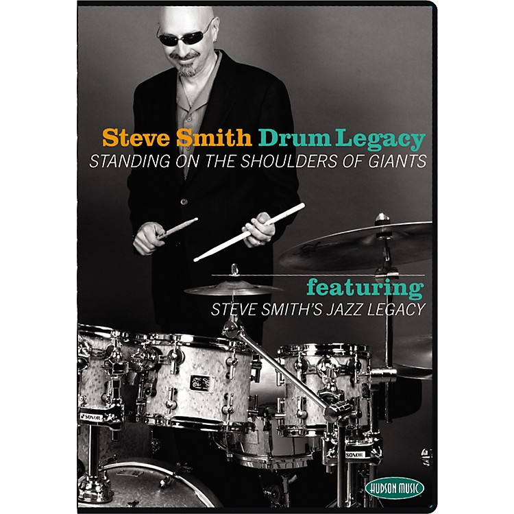 Hudson MusicSteve Smith's Drum Legacy - Standing on the Shoulder of Giants 2 DVD Set with CD
