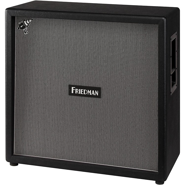 Friedman Steve Stevens Signature 4x12 Closed-Back Guitar Cabinet with Celestion Vintage 30's Black