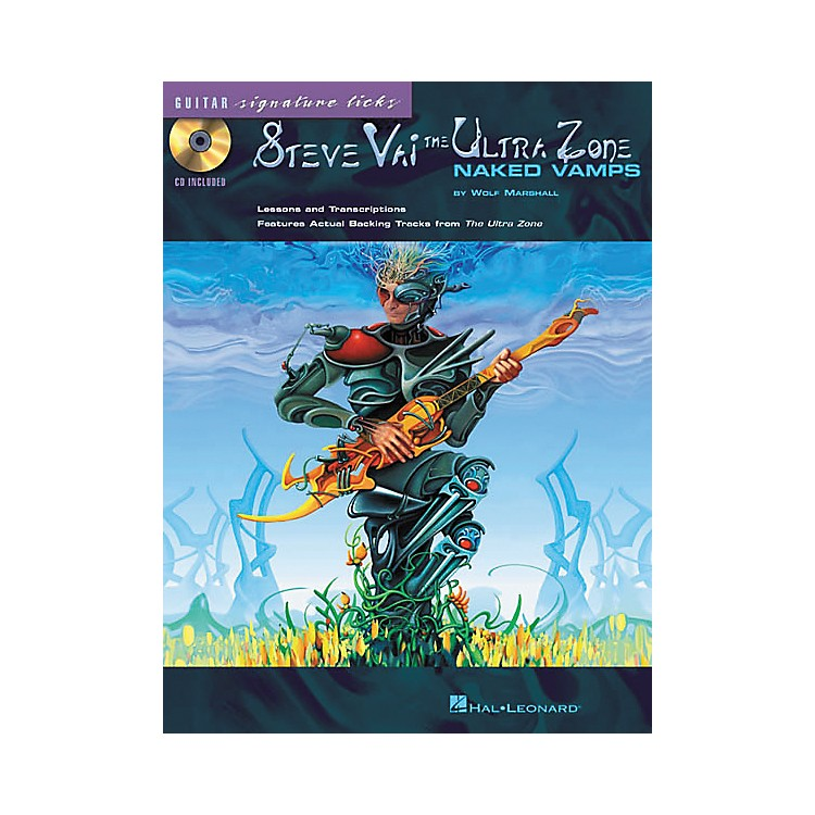 Hal LeonardSteve Vai - The Ultra Zone: Naked Vamps (Book/CD)