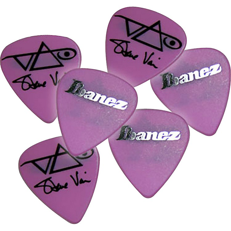 IbanezSteve Vai Pink Signature Picks 6-Pack