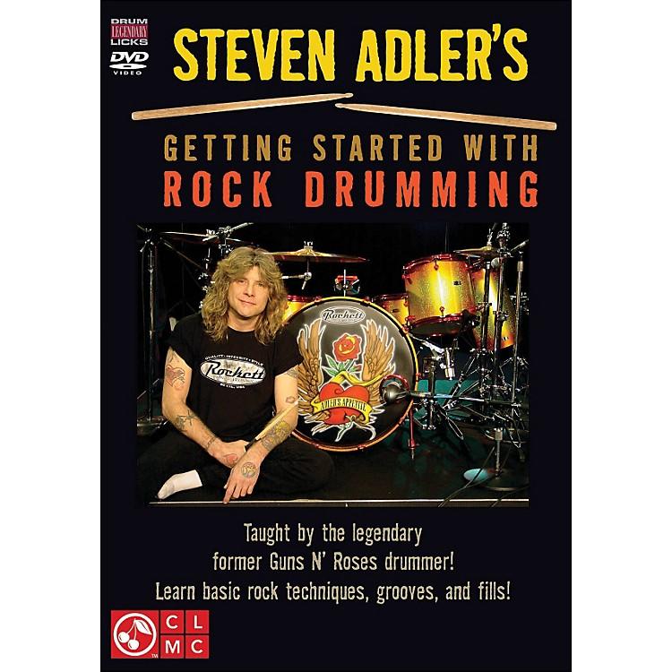 Cherry LaneSteven Adler's Getting Started with Rock Drumming (DVD)