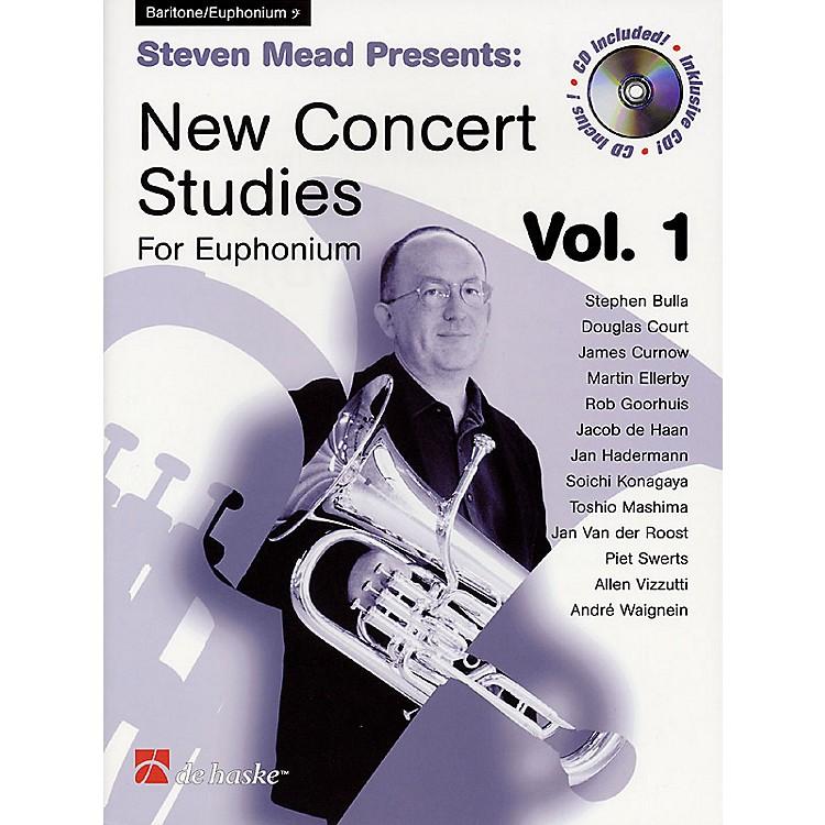 Hal LeonardSteven Mead Presents: New Concert Studies for Euphonium De Haske Play-Along Book BK/CD by Steven Mead