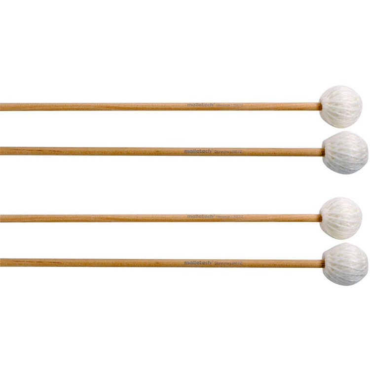 MalletechStevens Marimba Mallets Set of 4 (2 Matched Pairs)27Z