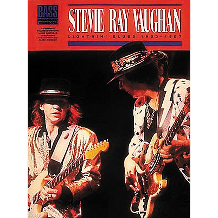 Hal Leonard Stevie Ray Vaughan - Lightnin Blues 1983 - 1987 Bass Tab Songbook