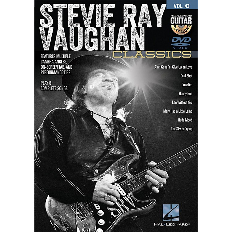 Hal Leonard Stevie Ray Vaughan Classics - Guitar Play-Along DVD Volume 43