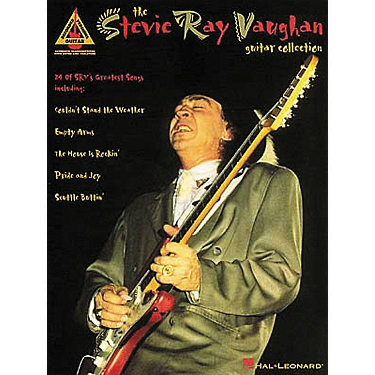 Hal Leonard Stevie Ray Vaughan Collection Guitar Tab Book