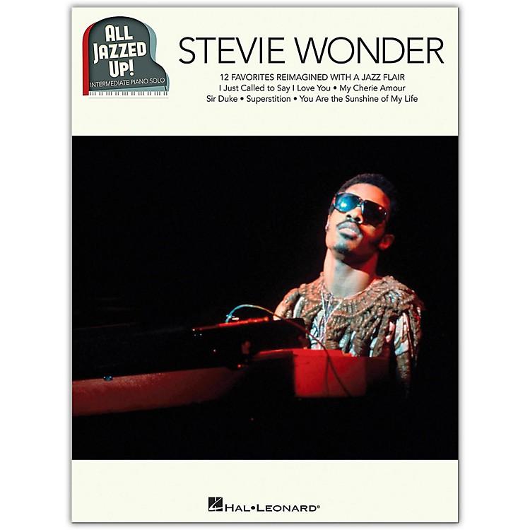 Hal LeonardStevie Wonder - All Jazzed Up!  Intermediate Piano Solo Songbook