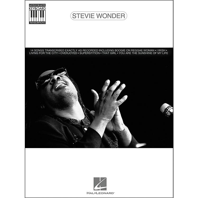 Hal LeonardStevie Wonder Note for Note Keyboard Songbook
