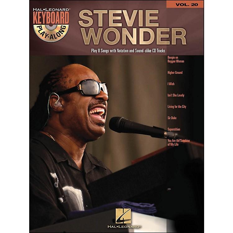 Hal LeonardStevie Wonder Vol. 20 Book/CD Keyboard Play-Along