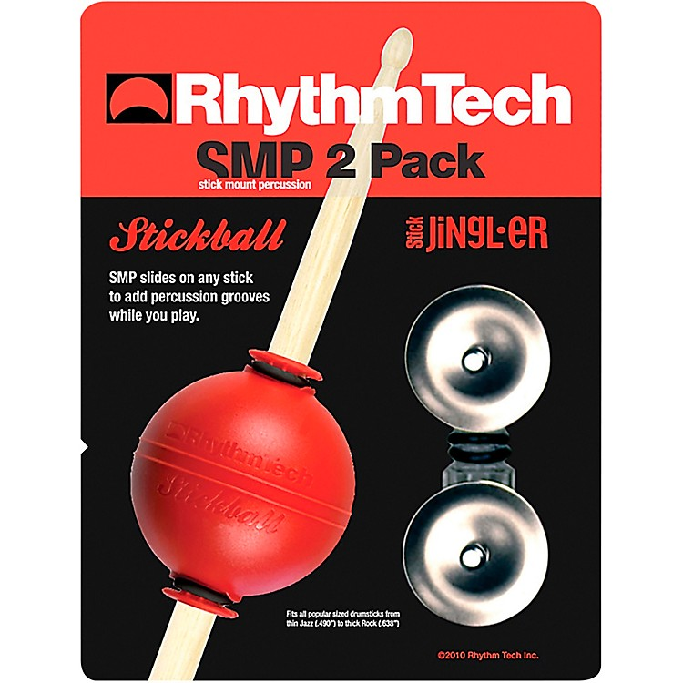 RhythmTech Stickball/ Stick N Jingles 2 Pack Small Stainless Steel