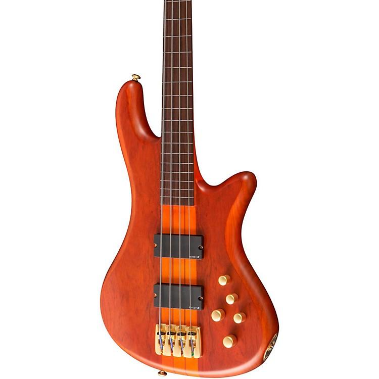 Schecter Guitar ResearchStiletto Studio-4 Fretless BassSatin Honey