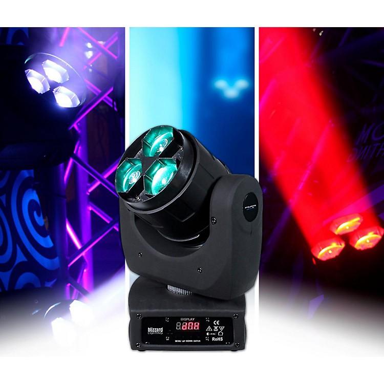 BlizzardStiletto Z3 RGBW 3x15 Watt LED Moving Head Light