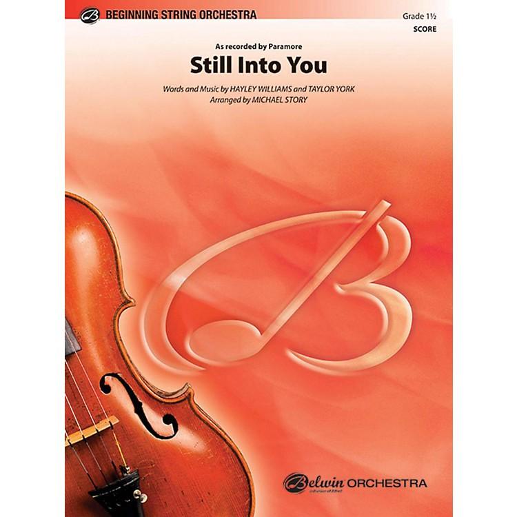AlfredStill Into You String Orchestra Grade 1.5