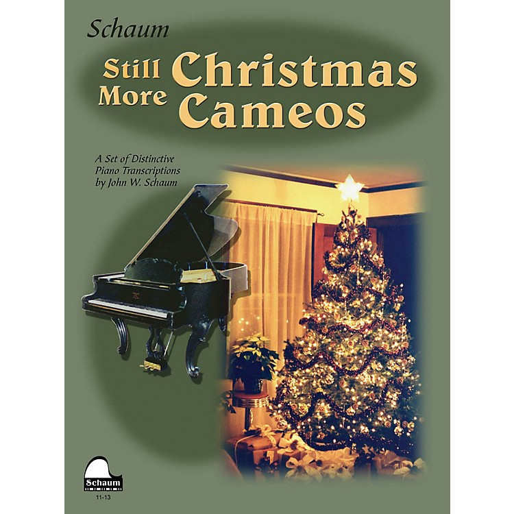 SCHAUM Still More Christmas Cameos (Level 6 Early Advanced Level) Educational Piano Book