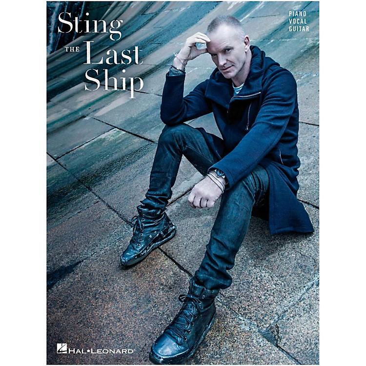 Hal LeonardSting - The Last Ship fpr Piano/Vocal/Guitar