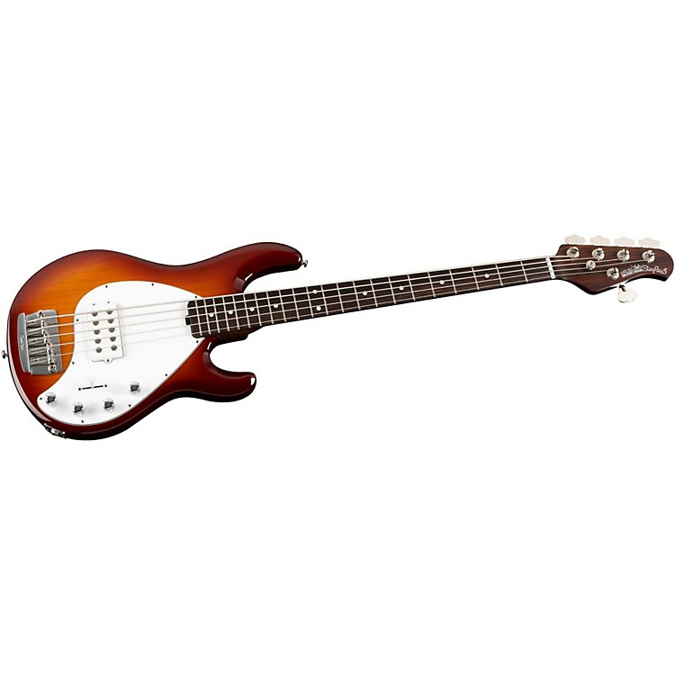ernie ball music man stingray 5 h 5 string electric bass guitar with all rosewood neck music123. Black Bedroom Furniture Sets. Home Design Ideas