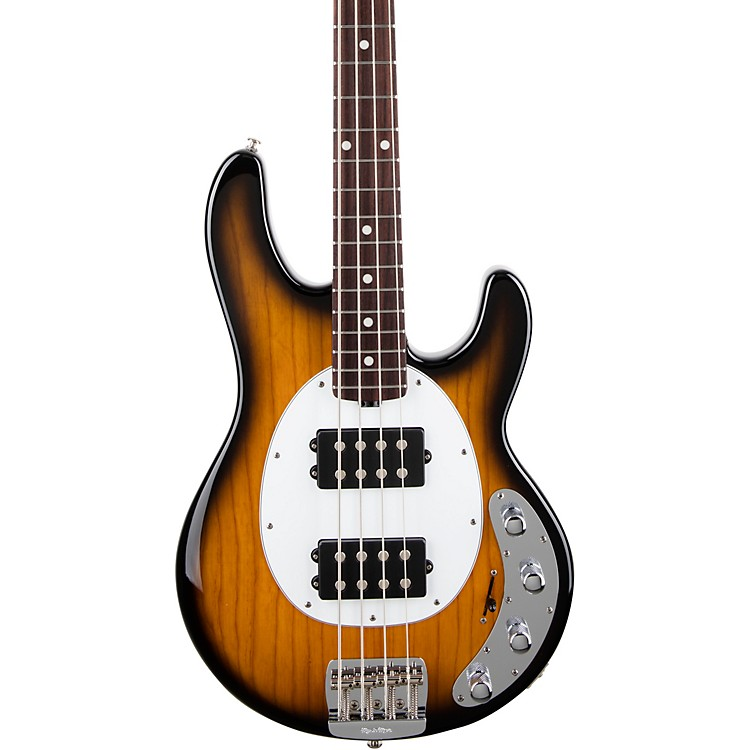 Ernie Ball Music ManStingRay Special HH Rosewood Fingerboard Electric BassVintage Tobacco
