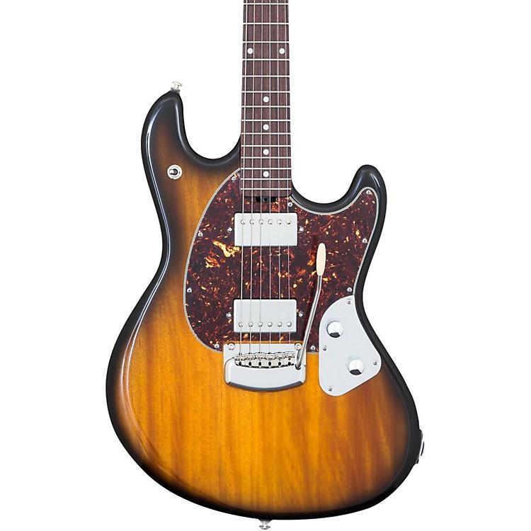 Ernie Ball Music ManStingRay Trem Electric GuitarVintage Tobacco