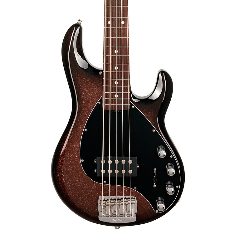 Ernie Ball Music Man Stingray 5 BFR 5-String Bass Ginger Burst