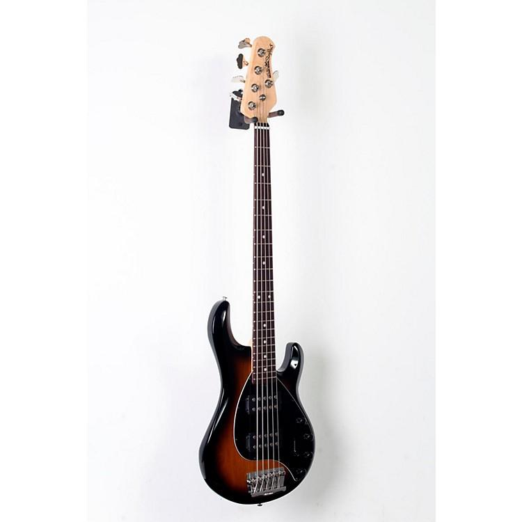 Ernie Ball Music ManStingray 5 HH 5-String Electric BassTobacco Burst, Black Pickguard888365804453