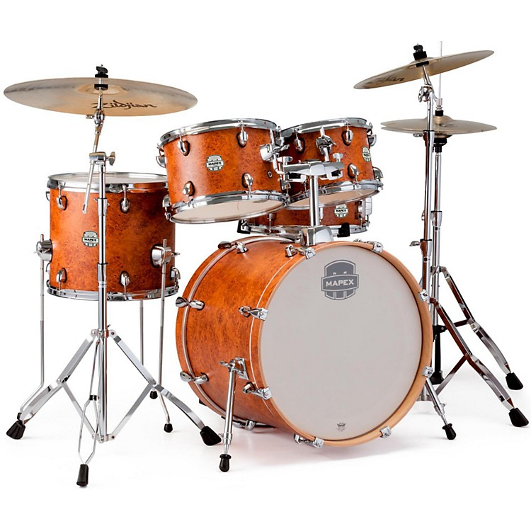 Mapex Storm Fusion 5-Piece Drum Set Camphor Wood Grain