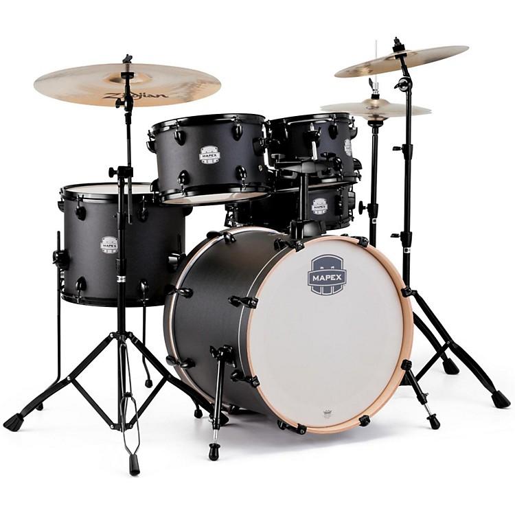 MapexStorm Fusion 5-Piece Drum SetDeep Black