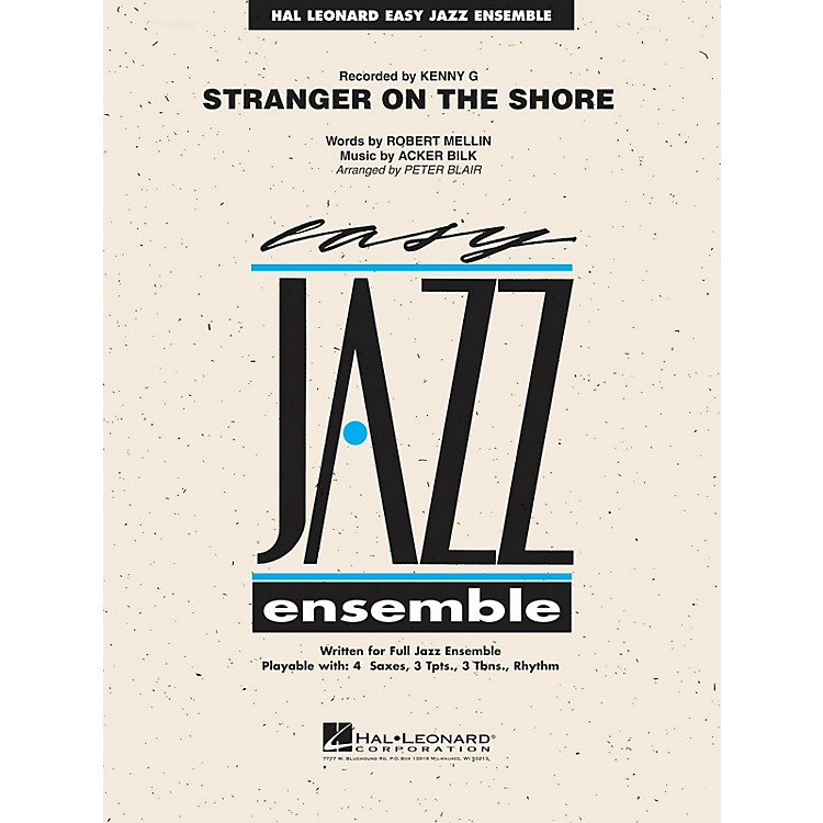 Hal LeonardStranger on the Shore (Alto Sax Feature) Jazz Band Level 2 Arranged by Peter Blair
