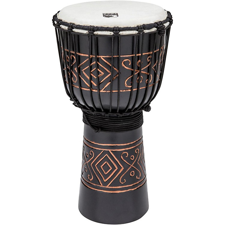 Toca Street Series Black Onyx Djembe Medium