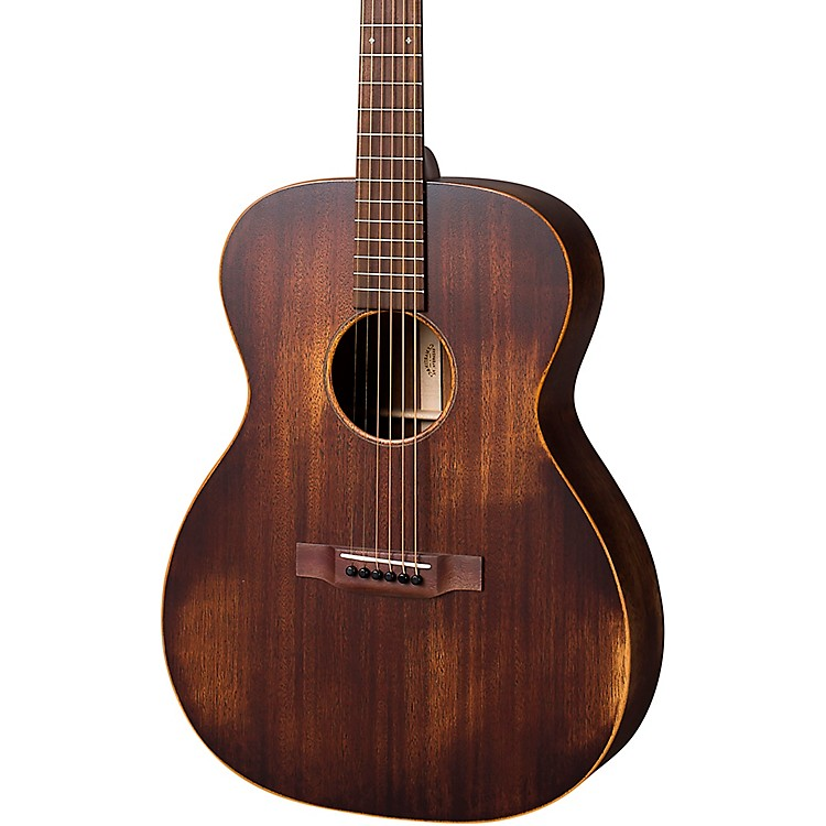 Martin StreetMaster Series 000-15M Auditorium Left-Handed Acoustic Guitar Natural
