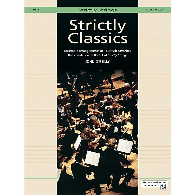 AlfredStrictly Classics Book 1 Cello
