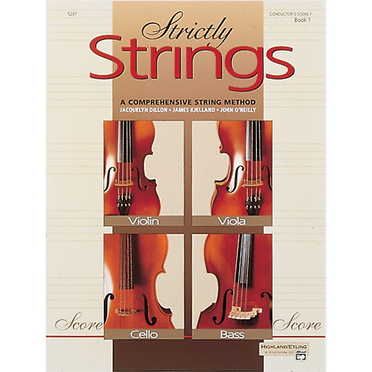AlfredStrictly Strings Book 1 Conductor's Score