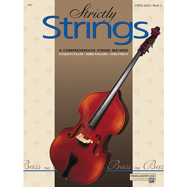 Alfred Strictly Strings Book 2 Bass