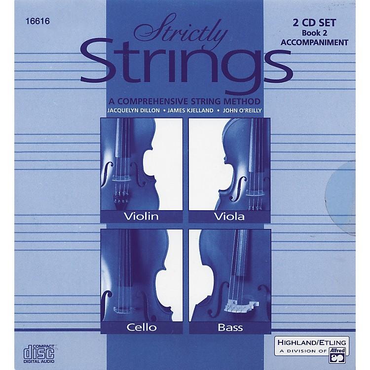 AlfredStrictly Strings Vol. 2 - 2 CD Set