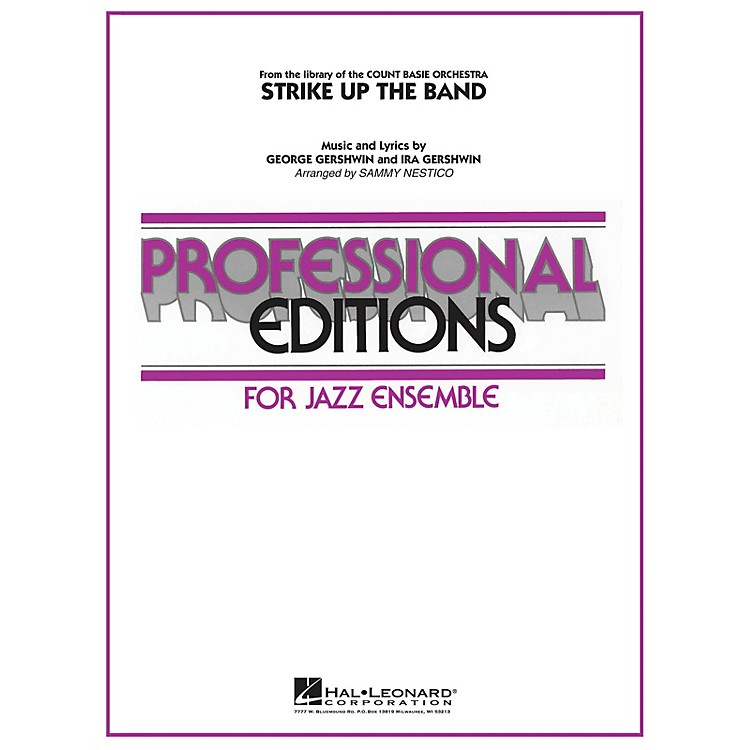 Hal LeonardStrike Up the Band Jazz Band Level 5 Arranged by Sammy Nestico