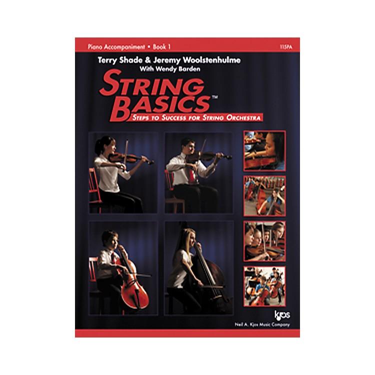 KJOSString Basics Book 1 - Piano Accompaniment