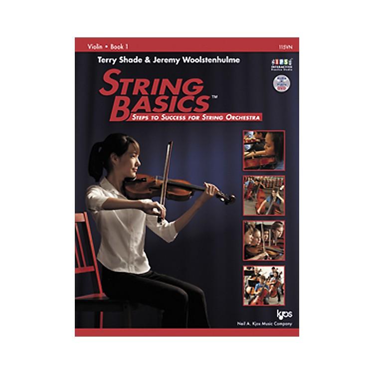 KJOSString Basics Book 1 for Violin