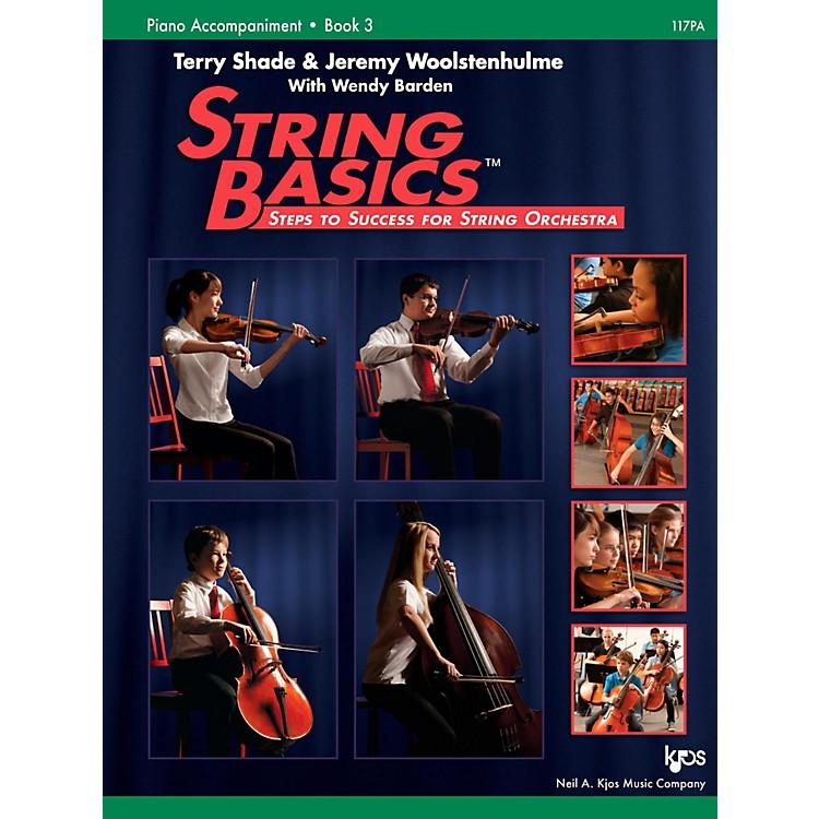 KJOSString Basics Book 3 - Piano Accompaniment