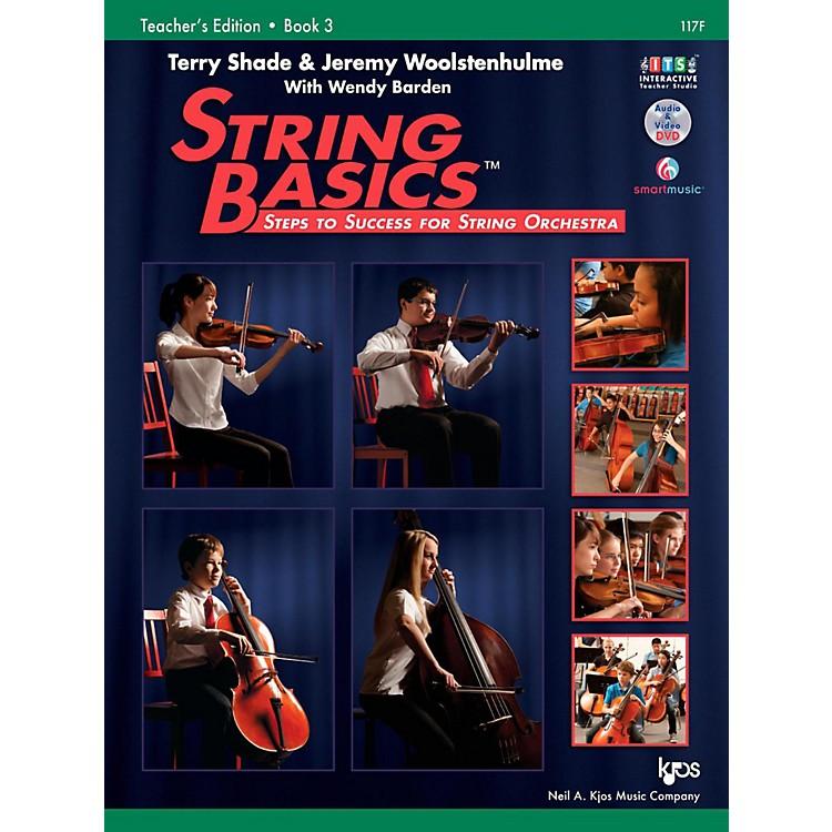 KJOSString Basics Book 3 - Score