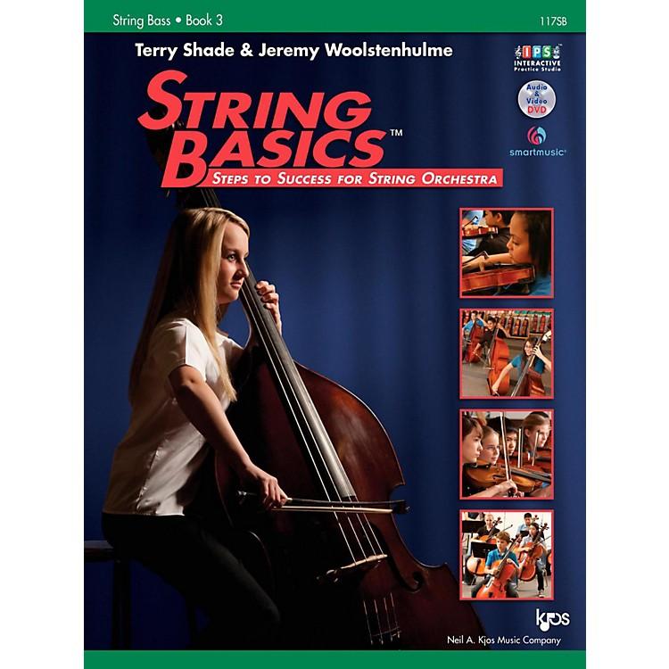 KJOSString Basics Book 3 - String Bass