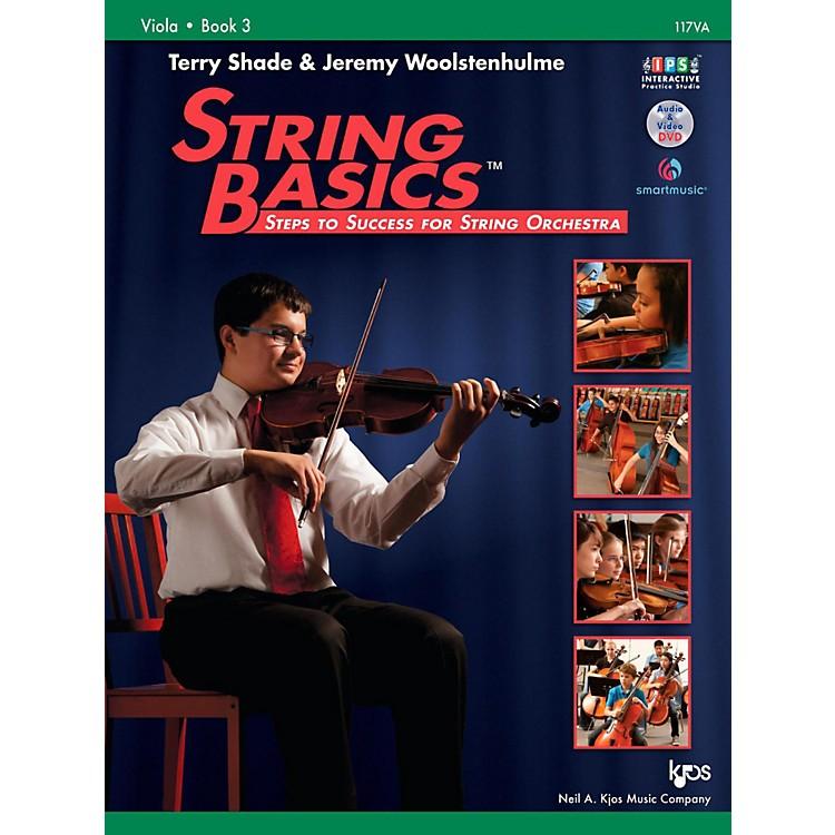 KJOSString Basics Book 3 - Viola