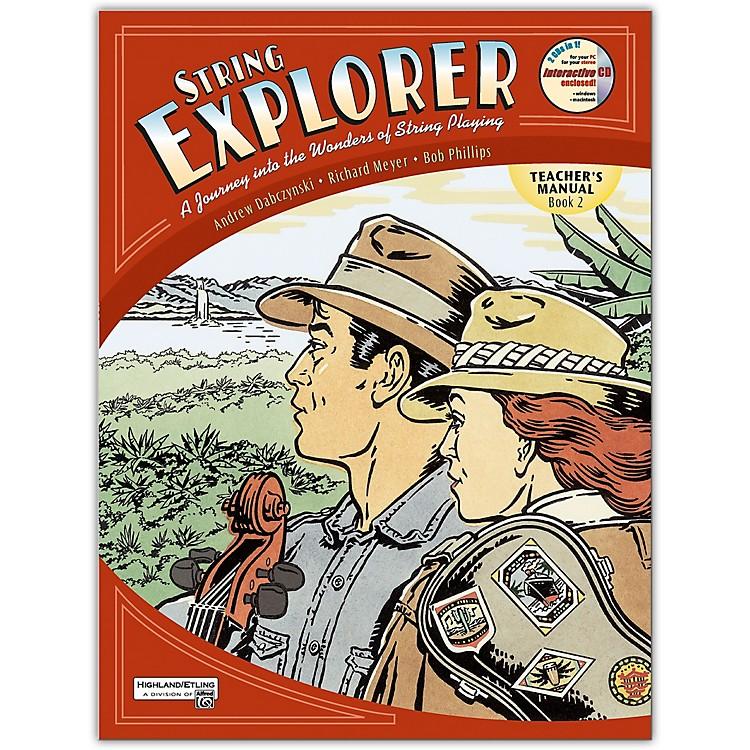 AlfredString Explorer Book 2 Teacher's Manual and Ecd
