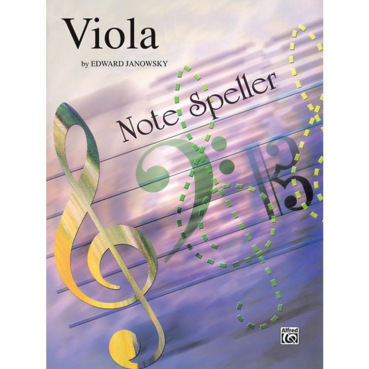 AlfredString Note Speller Viola