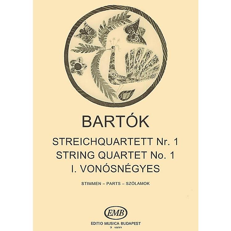 Editio Musica BudapestString Quartet No. 1, Op. 7 EMB Series Composed by Béla Bartók