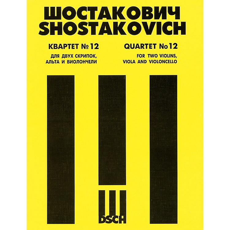 DSCHString Quartet No. 12, Op. 133 (Parts) DSCH Series Composed by Dmitri Shostakovich