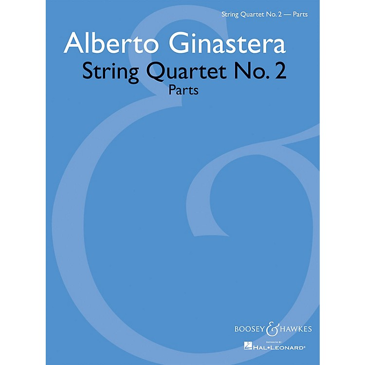 Boosey and HawkesString Quartet No. 2 Boosey & Hawkes Chamber Music Series Softcover Composed by Alberto Ginastera
