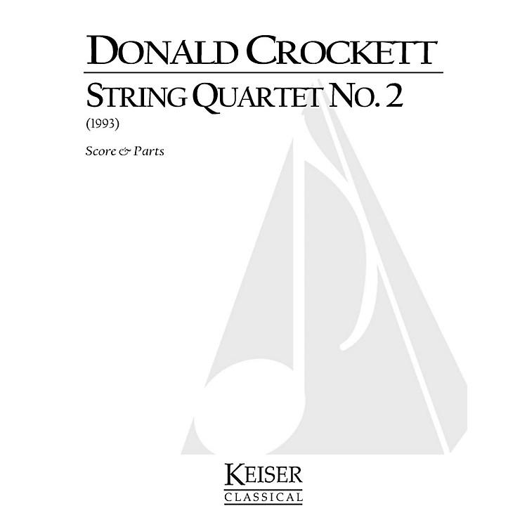 Lauren Keiser Music PublishingString Quartet No. 2 LKM Music Series Composed by Donald Crockett