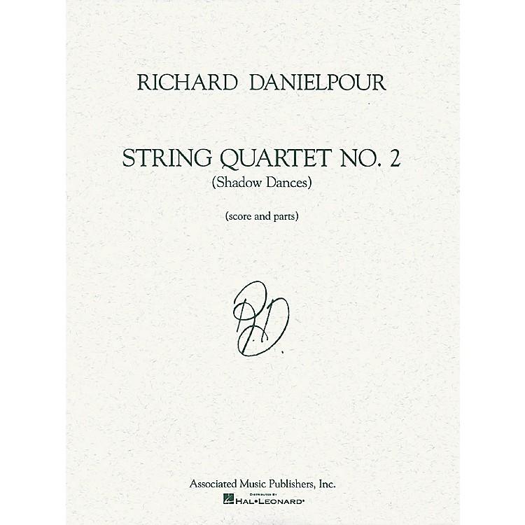 AssociatedString Quartet No. 2 (Shadow Dances) (Score and Parts) String Ensemble Series by Richard Danielpour