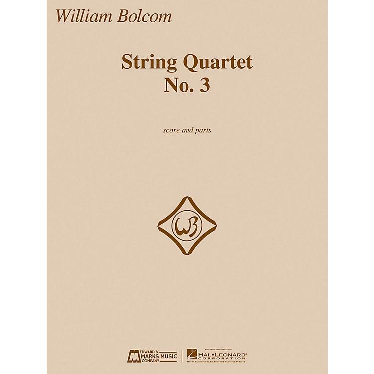Edward B. Marks Music CompanyString Quartet No. 3 E.B. Marks Series Composed by William Bolcom